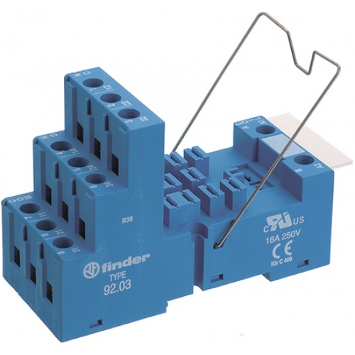 Finder 9203SMA Base relay