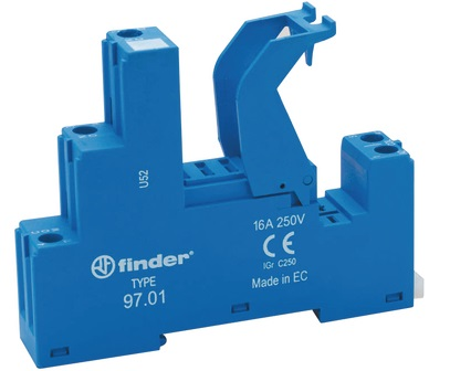 Finder 9701SPA base relay