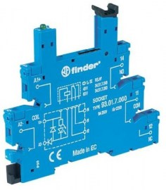 Finder 93010024 Base relay